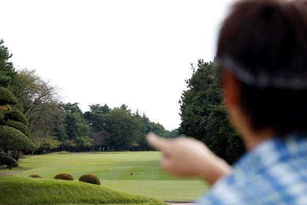 """遠くの景色を見ると、目の力は最小限に。"""""""