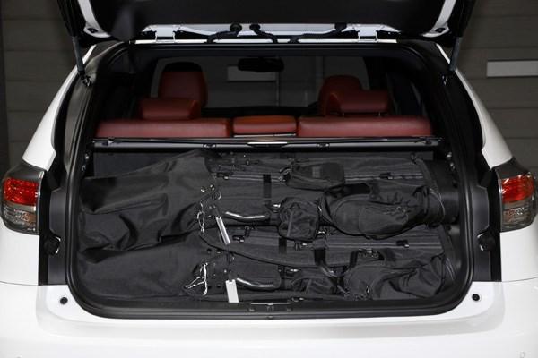 GDOバッグなら楽々4個を積載可能。しか