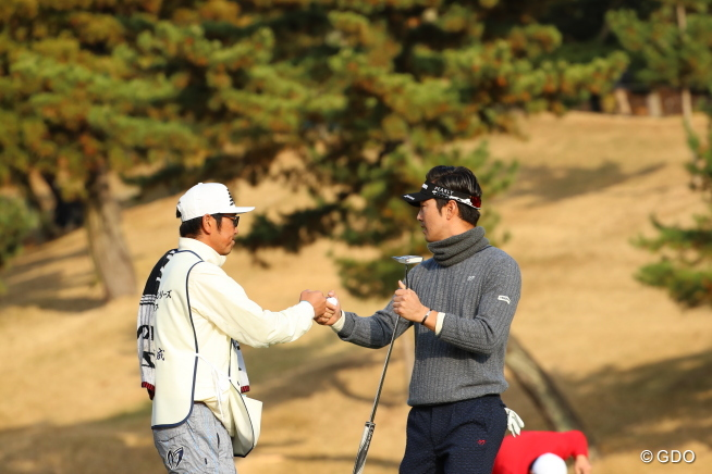 2016年 ゴルフ日本シリーズJTカップ 初日 金亨成