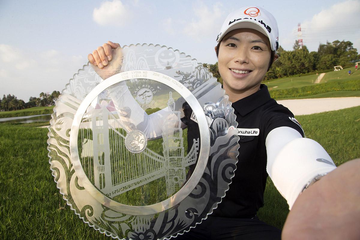 2017年 スウィンギングスカートLPGA台湾選手権 最終日 チ・ウンヒ