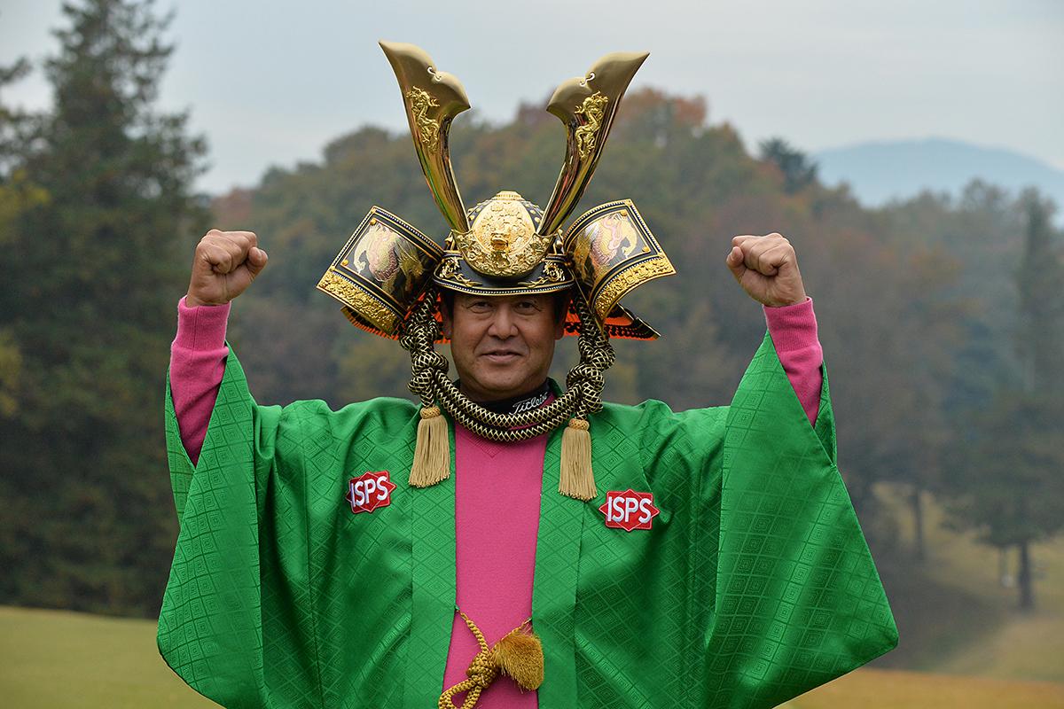 2017年 ISPS・HANDA CUP・フィランスロピーシニアトーナメント 最終日 柳沢伸祐