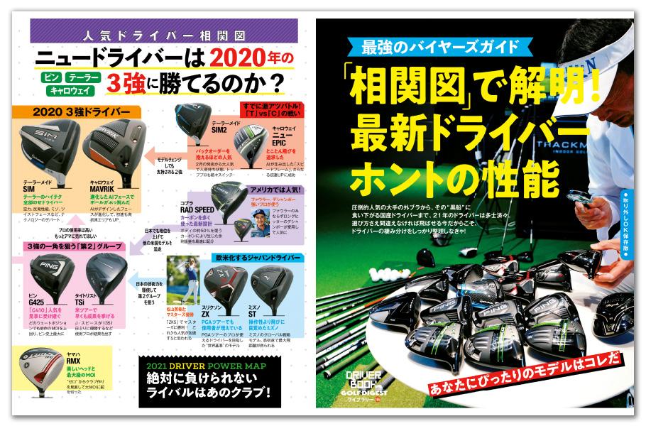 月刊ゴルフダイジェスト6月号 最新ドライバー ホントの性能