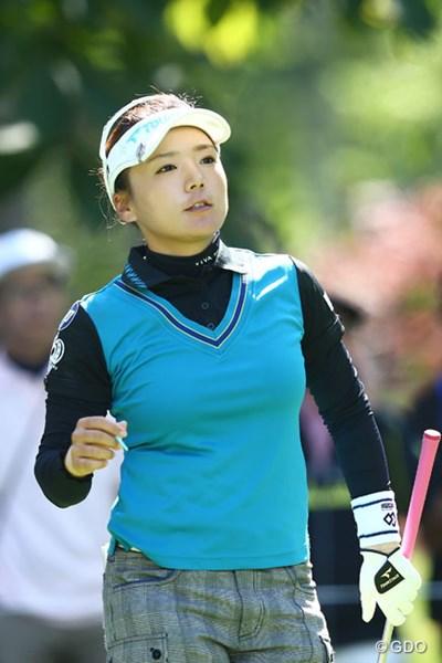 2013年 日本女子プロゴルフ選手権大会コニカミノルタ杯 2日目 有村智恵2013年 日本女子プロゴルフ選手権大会コニカミノルタ杯 2日目 有村智恵