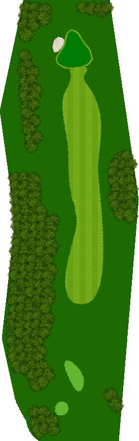 ルスツリゾートゴルフ72いずみかわコース 12H Par4