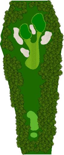 茨城ゴルフ倶楽部 17H Par5