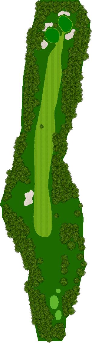 茨城ゴルフ倶楽部 8H Par3