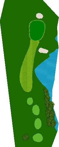 おかだいらゴルフリンクス 13H Par3