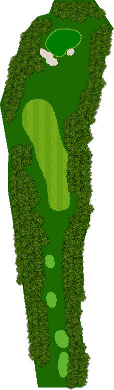 うぐいすの森ゴルフクラブ水戸 4H Par4