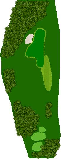 ハーモニーヒルズゴルフクラブ(旧イトーピア栃木GC) 2H Par3