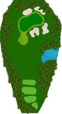 那須小川ゴルフクラブ 17H Par3