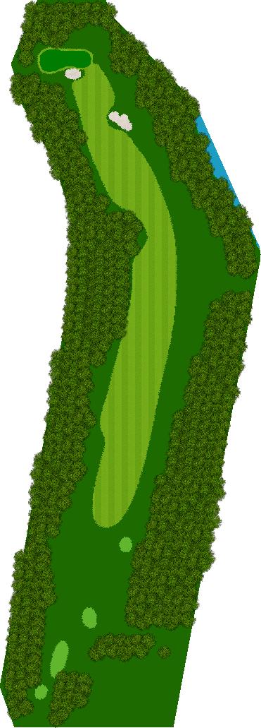 那須ハイランドGCコナミスポーツクラブ初心者用ゴルフコース 14H Par5