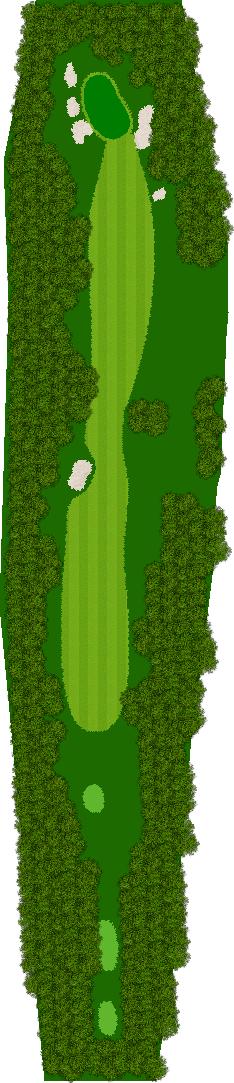 那須ハイランドGCコナミスポーツクラブ初心者用ゴルフコース 2H Par5
