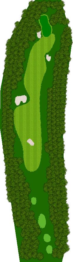那須ハイランドGCコナミスポーツクラブ初心者用ゴルフコース 9H Par4