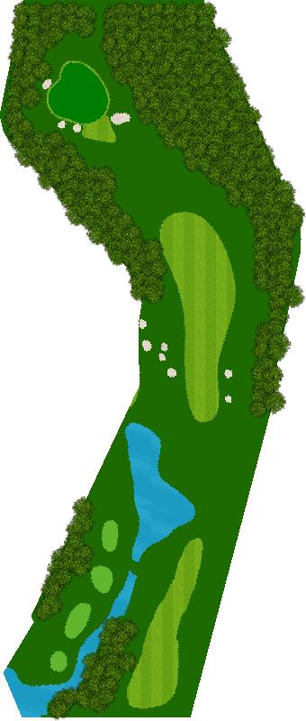 ニュー・セントアンドリュースゴルフクラブ・ジャパン 5H Par4