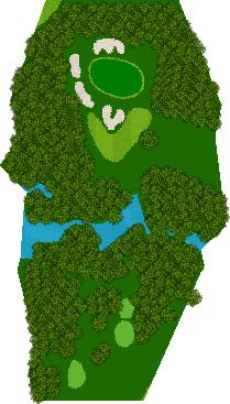 ヘリテイジゴルフコース 16H Par3