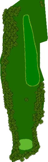国際レディースゴルフ倶楽部 2H Par4