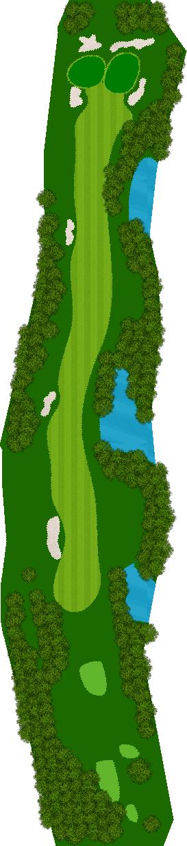 アルカディアゴルフクラブ 13H Par5