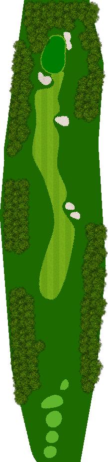 イーグルレイクゴルフクラブ 1H Par4