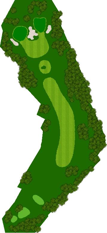 レイクウッドゴルフクラブ 8H Par4