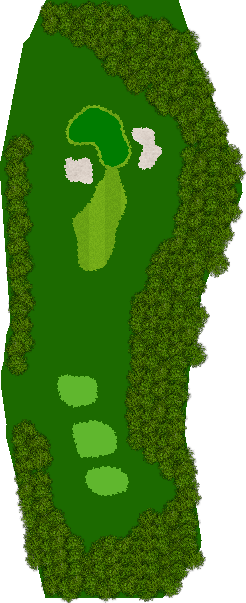 双鈴ゴルフクラブ土山コース 2H Par3