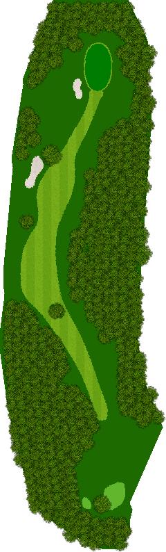 白木ゴルフ倶楽部 3H Par4