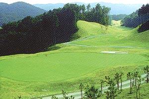 岡山県・サンフォレストゴルフクラブ