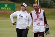 2014年 全英リコー女子オープン 3日目 アン・ソンジュ