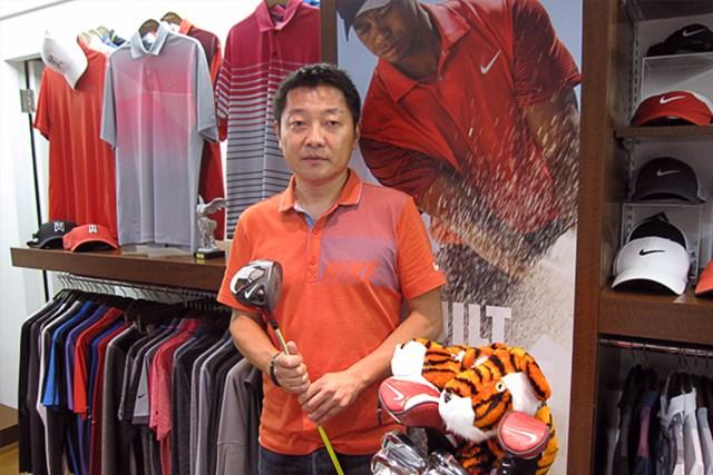 HOTLIST受賞クラブに迫る!今回はタイガー・ウッズが使用するナイキゴルフについて、同社のディレクター信田氏に開発秘話を伺った