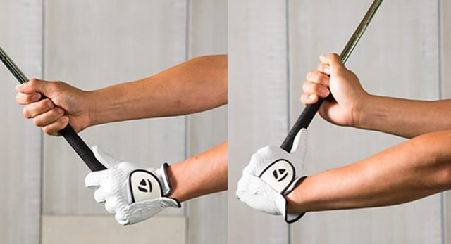 コックは右手と左手を入れ替えるだけでOK