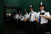2014年 全英オープン 3日目 警官