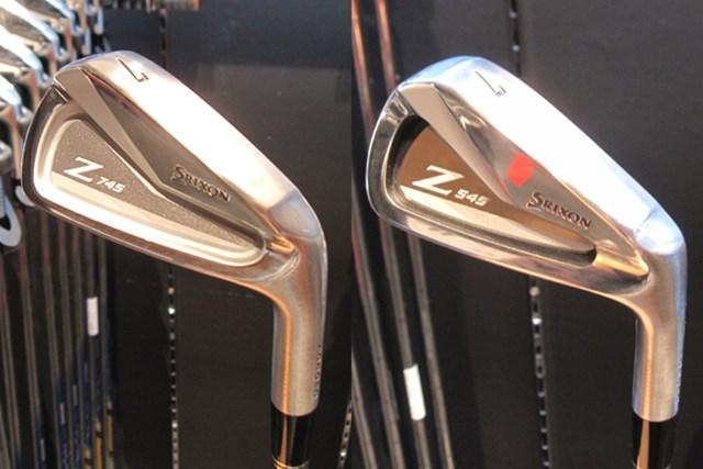 スリクソン NEW Zシリーズ 心地よい打感とシャープな形状をそのままに。操作性が向上しているとのこと