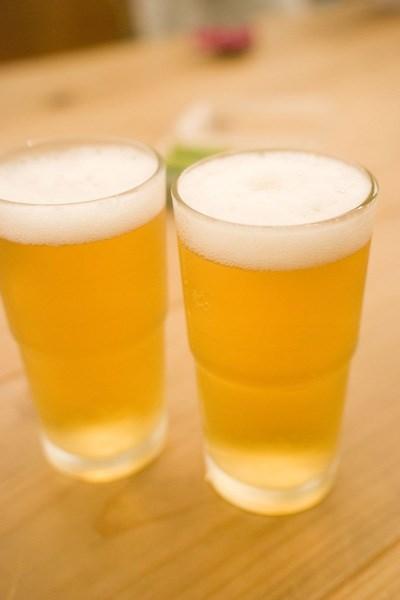 冷たい生ビールがいつでも飲める水冷却方式
