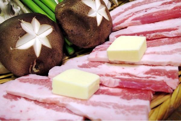 豚カルビセット500g3300円、牛カル