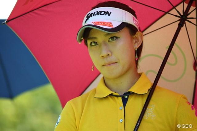 前週の惜敗から掴んだ自分流のゴルフを貫き、再び優勝争いに名乗りを挙げた香妻琴乃