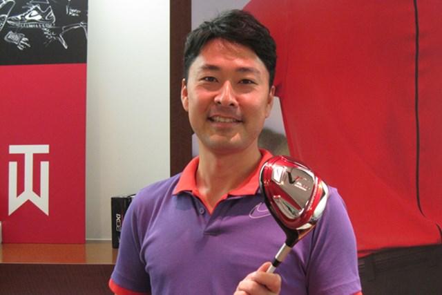 HOTLIST受賞クラブの開発背景に迫る ~ナイキゴルフ編~ 2012年 Vol.5 ナイキゴルフ躍進の理由は日本人エンジニアにあり!立役者の小林氏にインタビュー
