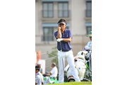 2014年 ダンロップ・スリクソン福島オープンゴルフトーナメント 初日 井上信