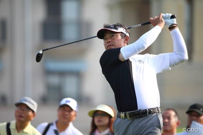 トランプマンかいっ! 2014年 ダンロップ・スリクソン福島オープンゴルフトーナメント 初日 上田諭尉