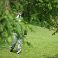 ナイスショットー!ってなんのこっちゃ。 2014年 ダンロップ・スリクソン福島オープンゴルフトーナメント 初日 上田諭尉