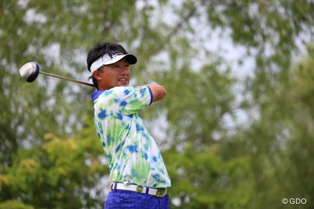 2014年 ダンロップ・スリクソン福島オープンゴルフトーナメント 2日目 市原弘大 今日も2アンダーでハーフターンをしたのだ
