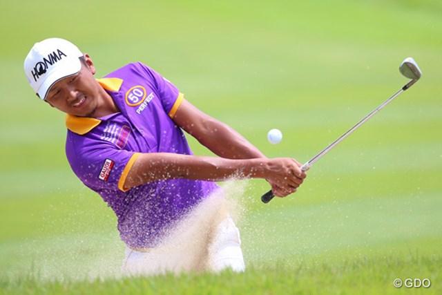 2014年 ダンロップ・スリクソン福島オープンゴルフトーナメント 2日目 岩田寛 8ストローク伸ばして暫定首位タイに浮上した岩田寛