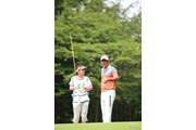 2014年 ダンロップ・スリクソン福島オープンゴルフトーナメント 2日目 高橋竜彦 牛渡葉月
