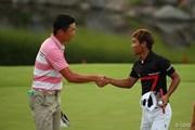 2014年 ダンロップ・スリクソン福島オープンゴルフトーナメント 3日目 永野竜太郎 タンヤゴーン・クロンパ