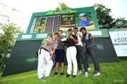 2014年 ダンロップ・スリクソン福島オープンゴルフトーナメント 最終日 小平智 チーム小平