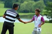 2014年 ダンロップ・スリクソン福島オープンゴルフトーナメント 最終日 永野竜太郎 タンヤゴーン・クロンパ