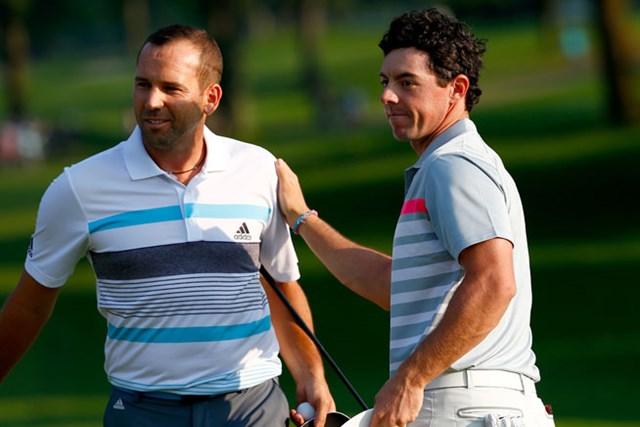 2014年 全米プロゴルフ選手権 事前 ロリー・マキロイ&セルヒオ・ガルシア 今週も好調の2人が魅せてくれるか・・・※画像は2014年WGCブリヂストンインビテーショナル(Sam Greenwood/Getty Images)