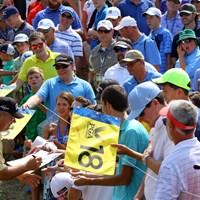 ケンタッキー出身のペリーは、バルハラGCではタイガーに勝るとも劣らない人気を誇っている 2014年 全米プロゴルフ選手権 事前 ケニー・ペリー