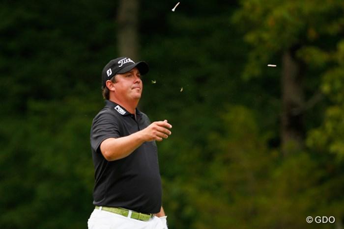 ディフェンディングチャンピオンとして臨んだダフナーは初日で姿を消した(Sam Greenwood/Getty Images) 2014年 全米プロゴルフ選手権 初日 ジェイソン・ダフナー