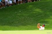 2014年 全米プロゴルフ選手権 3日目 バンカーショット