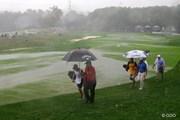 2014年 全米プロゴルフ選手権 最終日 雨