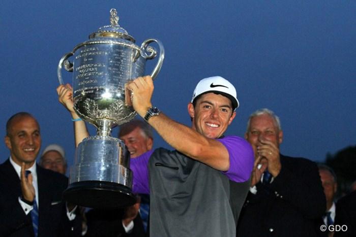 ミケルソン、ファウラーらを振り切って勝利を掴んだロリー・マキロイ 2014年 全米プロゴルフ選手権 最終日 ロリー・マキロイ